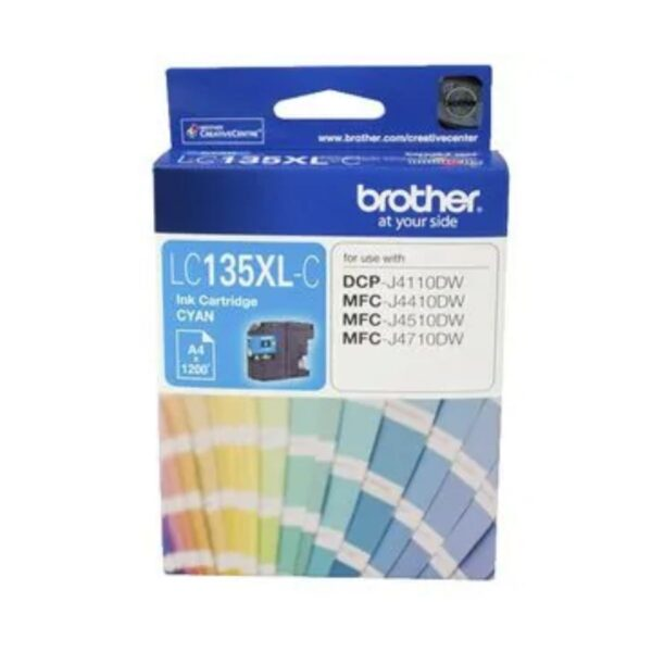 Brother LC135xl Cyan