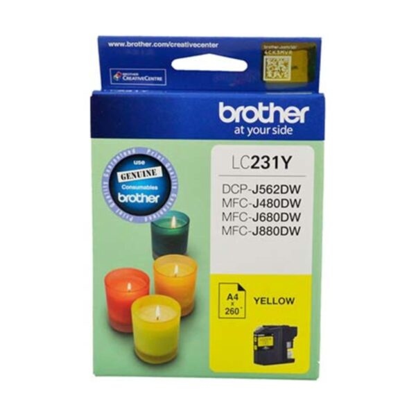 Brother LC231 Yellow