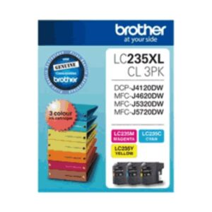 Brother LC235xl Colour Trio
