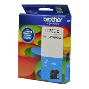Brother LC23E Cyan Ink Cartridge
