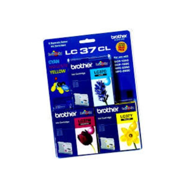 Brother LC37 Trio Pack