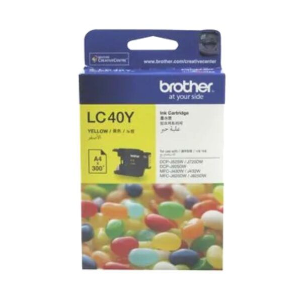 Brother LC40 Yellow
