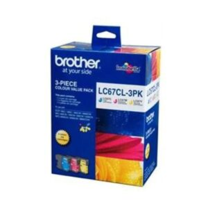 Brother LC67 Colour Trio