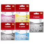 Canon 520 521 BCMY Pack