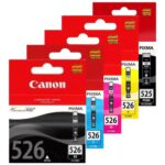 Canon 525 526 BCMY Pack