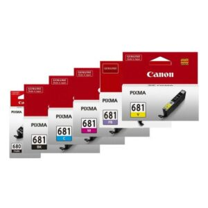 Canon 680 681 BCMYPB Pack