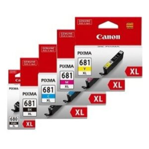Canon 680xl 681xl BCMY Pack