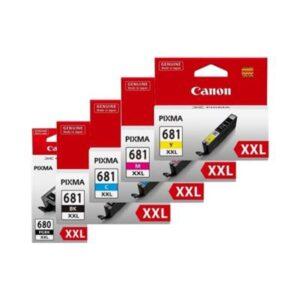 Canon 680xxl 681xxl BCMY Pack