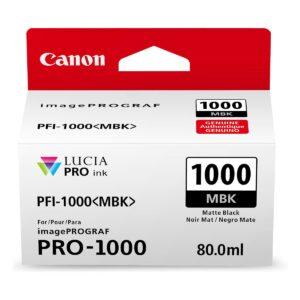 Canon PFI1000 Matte Black