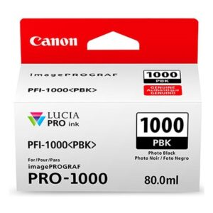 Canon PFI1000 Photo Black