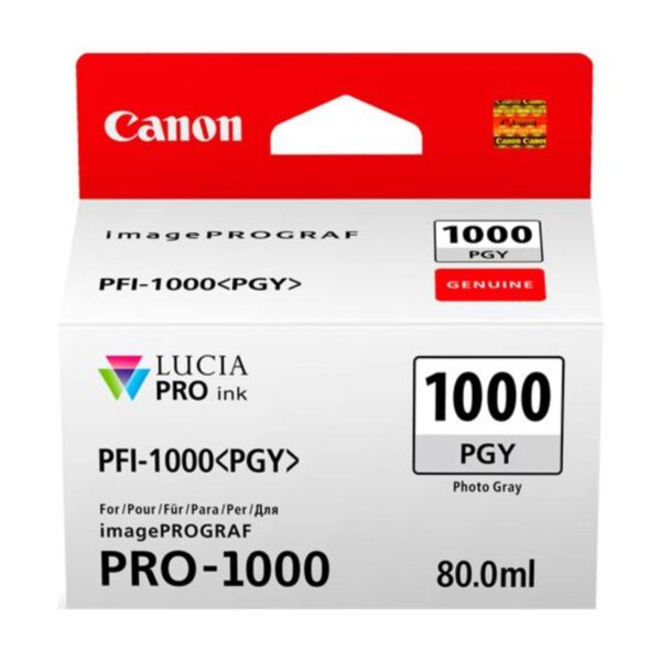 Canon PFI1000 Photo Grey