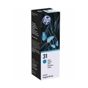 HP 31 Cyan Ink Bottle
