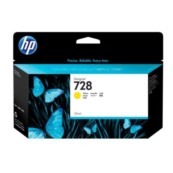 HP 728 Yellow