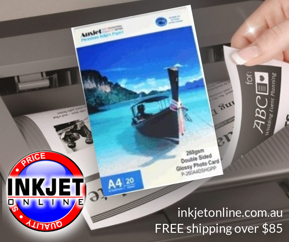 Double Sided Gloss 260gsm Card
