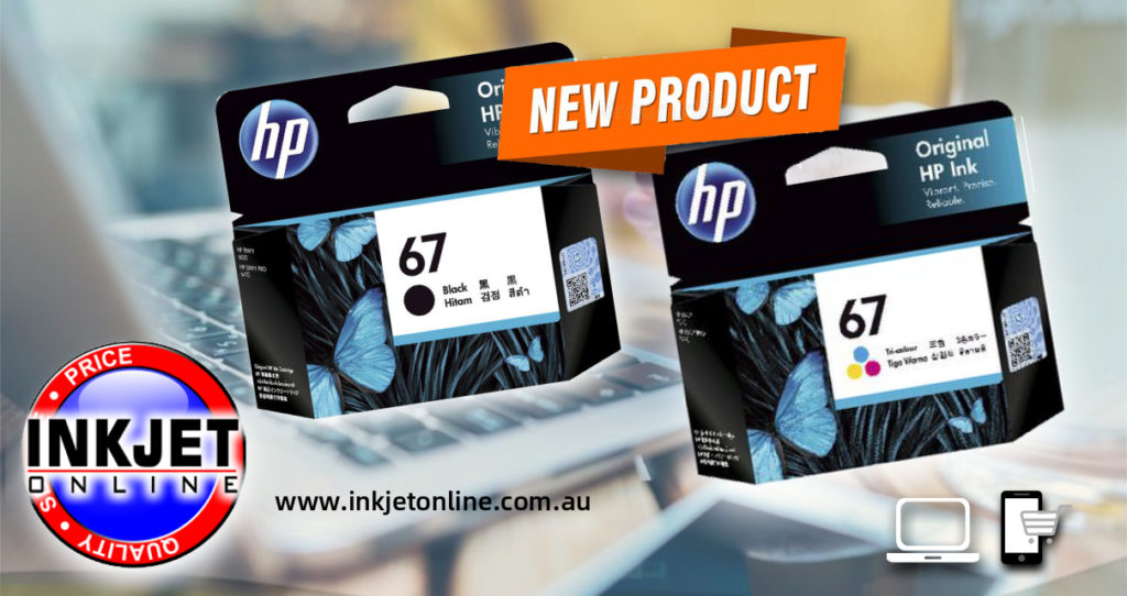 HP 67 Inks Now In Stock