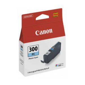 Canon PFI300 Photo Cyan Ink Cartridge