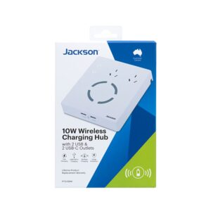 Jackson 2 Outlet Power Hub Wireless PT2USBWI