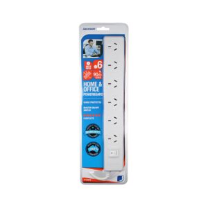 Jackson 6 Outlet Powerboard PT5966