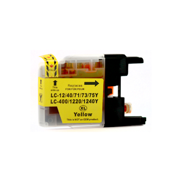 Generic Brother LC73 Yellow Ink Cartridge
