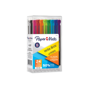 Papermate Write Brothers Mechanical Pencil 0.7mm Box 24