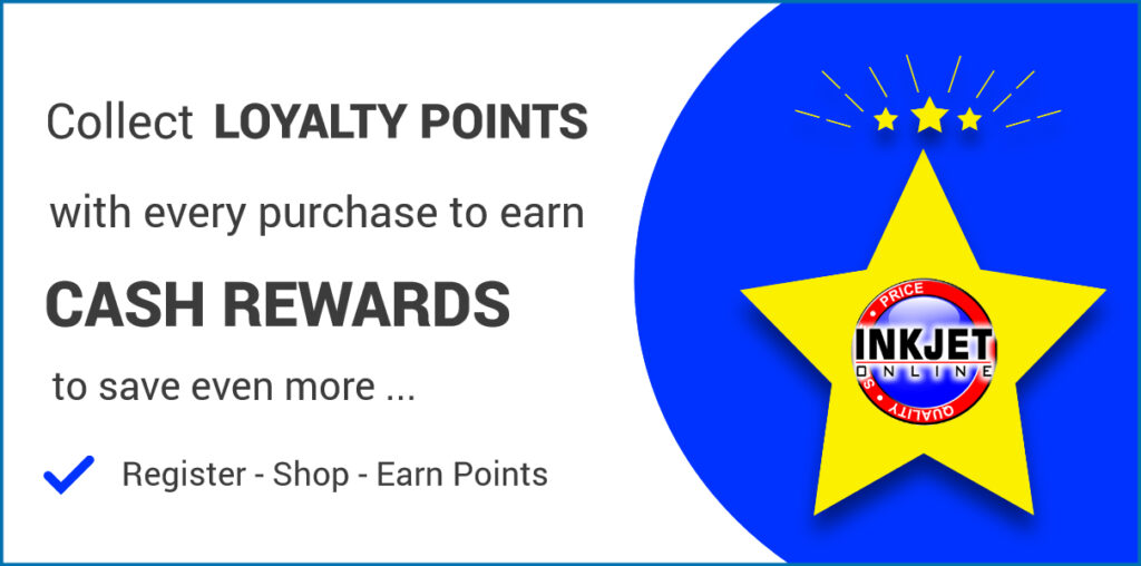 Inkjet Online Loyalty Point Program