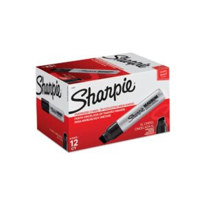 Sharpie Magnum Permanent Marker Black Bx12