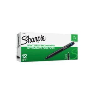 Sharpie Pen Fineliner Blue Box 12