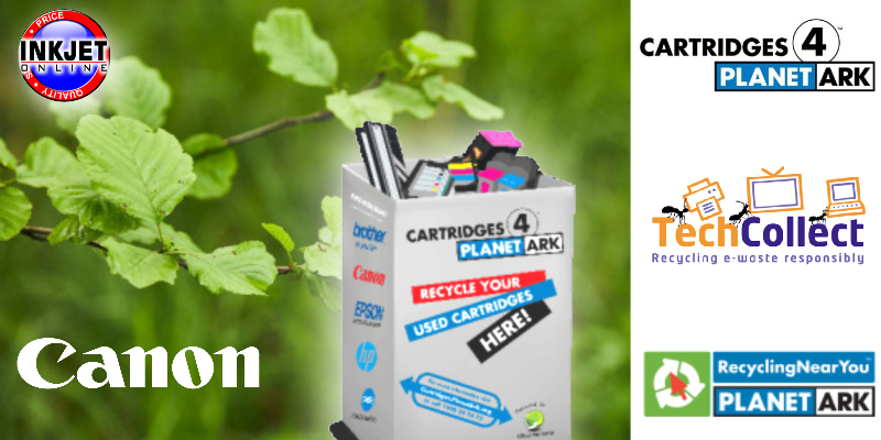 Canon Ink Cartridge Recycling