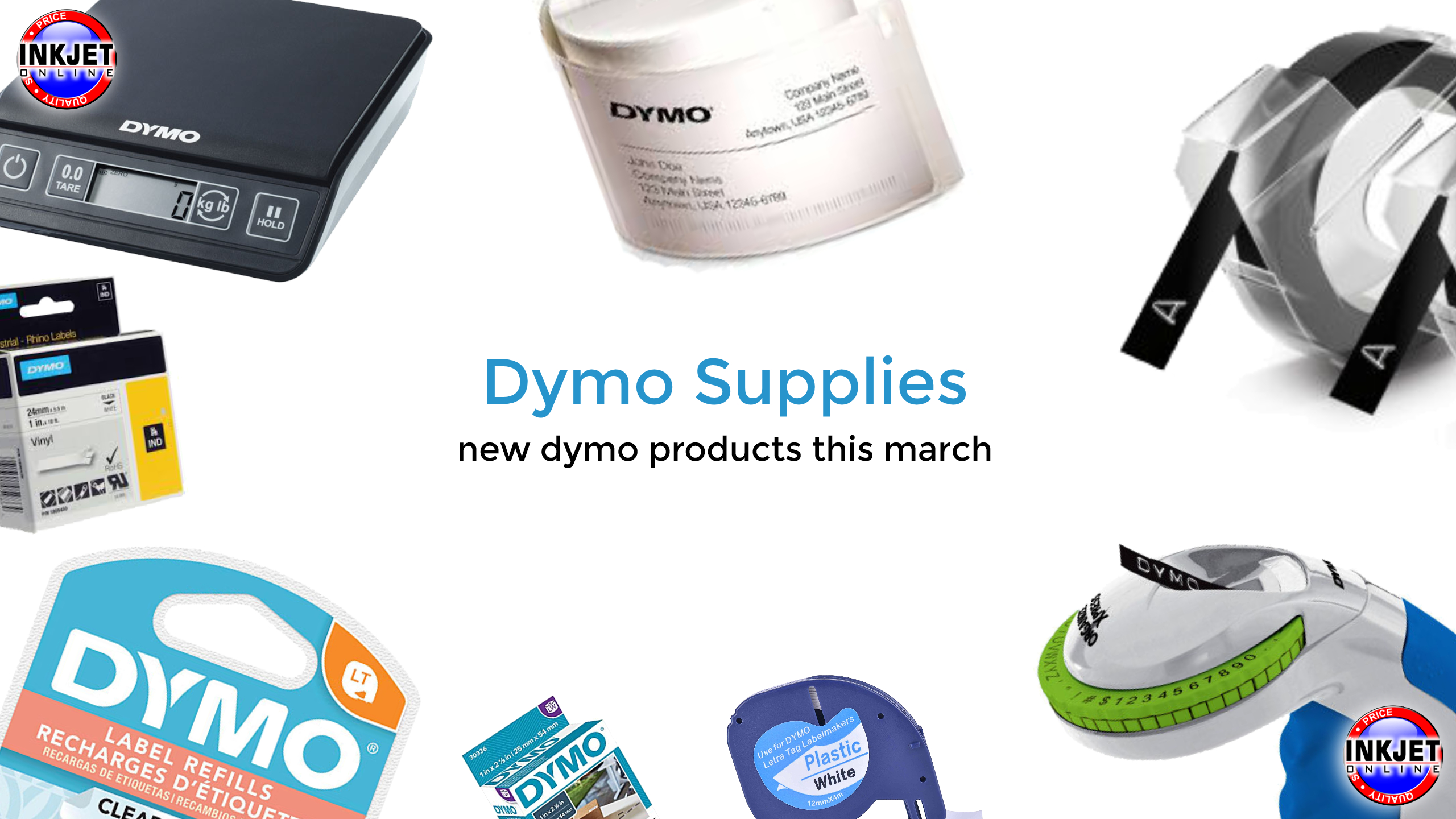 Dymo Tapes, Dymo Labels Dymo Heat Shrink March 2021