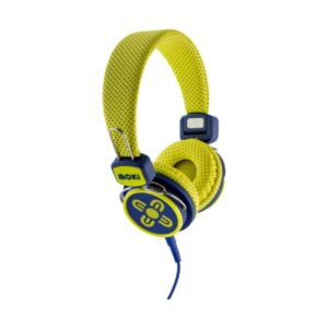 Moki Kids Safe Headphones - Yellow & Blue ACC HPKSYB