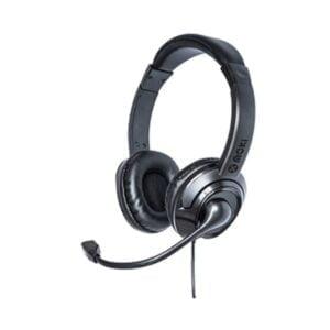 Moki USB Headphones + Boom Microphone