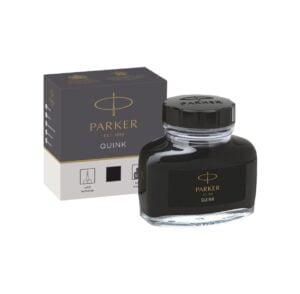 Parker Quink Black Ink Bottle