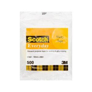 Scotch Sticky Tape 502 18mm x 66m Pk8